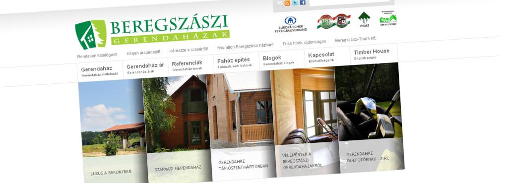 A Gerendaház weboldal 2011-ben